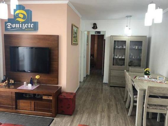 Apartamento Com 2 Dormitórios À Venda, 64 M² Por R$ 349.000,00 - Jardim - Santo André/sp - Ap8691