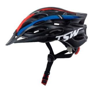 Capacete Bike Ciclismo Tsw Tune M/g Regulável Mtb Speed