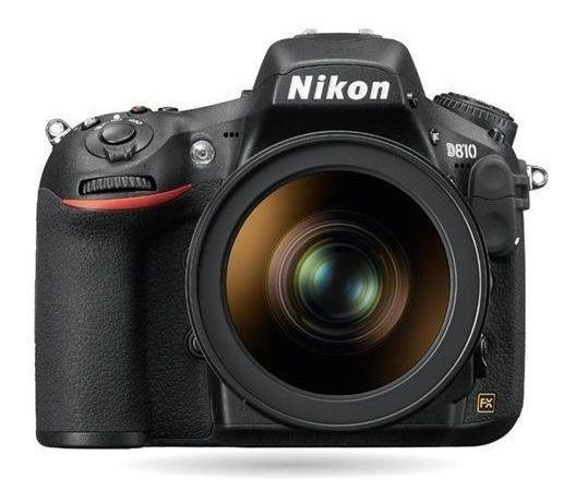 Câmera Nikon Dslr D810 (corpo) C/ Nota Fiscal