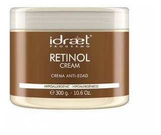 Retinol Cream Crema Antioxidante Con Vitamina X 300gr Idraet