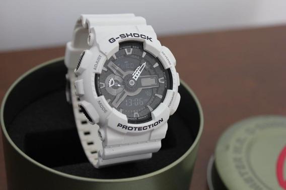 Relogio G Shock Branco Modelo 5146 Ga-110gw