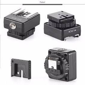 Adaptador De Sapata Canon Para Sony Nex A7 A6000 A6500 A7r