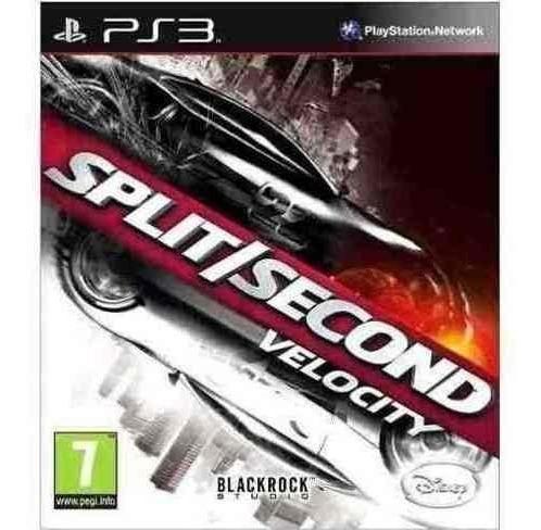 Split Second - Jogos Ps3 Playstation 3 - Corrida Psn
