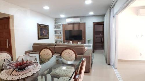 Imagem 1 de 22 de Apartamento Com 3 Dormitórios, 131 M² - Venda Por R$ 890.000,00 Ou Aluguel Por R$ 4.000,00/mês - Vila Mendonça - Araçatuba/sp - Ap0415