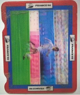 Card Holográfico Coca-cola Copa Do Mundo 98 - Stoichkov