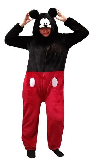 Mameluco Disfraz Adulto Bord. Mickey Disney