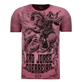Camiseta Corinthians São Jorge Guerreiro Bordeaux