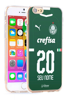 Capinha Palmeiras Camisa 2019 Com Nome E Numero iPhone 6 7 8