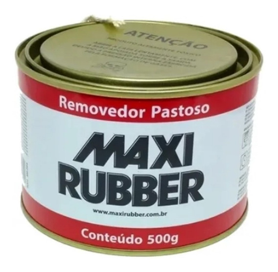 Removedor De Tinta Pastoso Maxi Rubber 500g