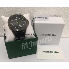 Relógio Lacoste Masculino Borracha Preta - 2010941