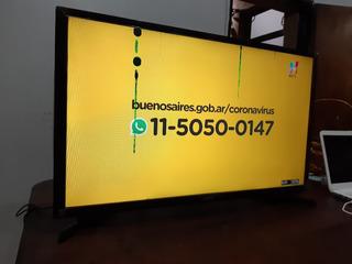 Smart Tv Led Samsung 32 Pulgadas Detalles En Pantalla