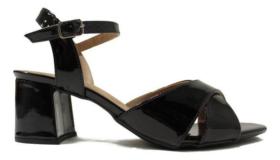 Zapato De Mujer Sandalia De Charol Casual Comoda Coco