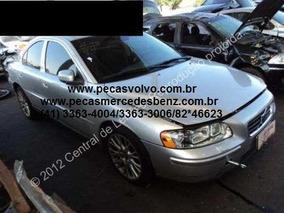 Volvo S60 2.5t 2007 Sucata Pecas Batida Para Tirar Peças