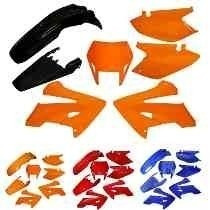 Kit De Carenagem Completo Ho Xr250 Tornado - Verm 04/05 - S/