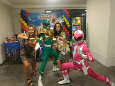 Serviço De Animação De Festa Com O Grupo Power Ranger