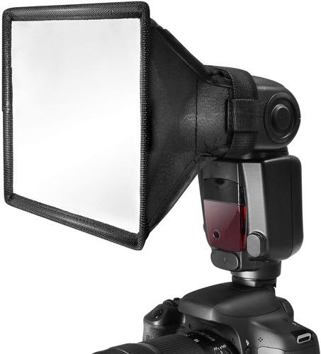 Difusor Retangular Para Flash Speedlight De 17x15cm Softbox