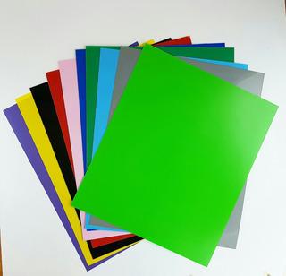 Plastico Alto Impacto. Poliestireno (pai) Color 1mm 50x60cm