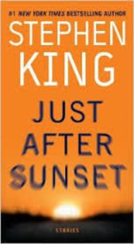 Livro Just After Sunset Stephen King