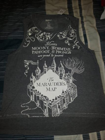 Regata Harry Potter Original Mapa Do Maroto