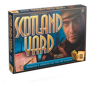 Jogo De Tabuleiro Scotland Yard Original Grow