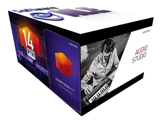 Sound Forge 14 Pro Español +audio Studio 14 +noise Reduction