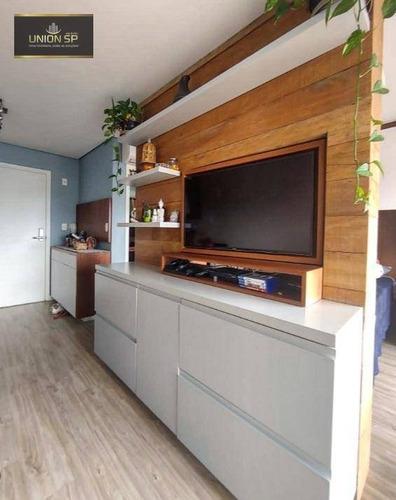 Apartamento Com 1 Dormitório À Venda, 38 M² Por R$ 700.000,00 - Aclimação - São Paulo/sp - Ap49119