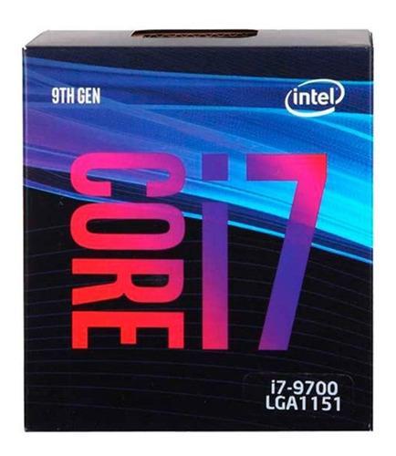 Imagen 1 de 6 de Micro Procesador Intel Core I7 9700 4.7ghz Coffee Lake