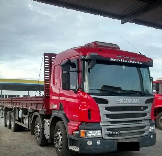 Scania P310 Bitruck Carroceria 2012