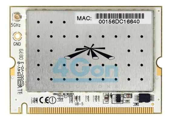 Placa Wifi Ubiquiti Minipci 600 Mw 5.8 Ghz Conector Mmcx 29