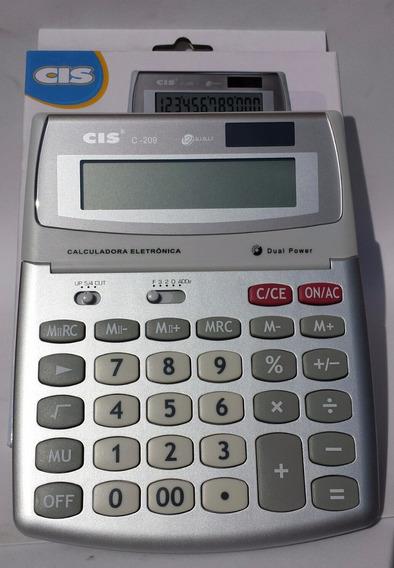 Calculadora De Mesa Cis C-209 Sertic