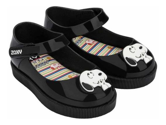 Sapato Snoopy Zaxynina Preta