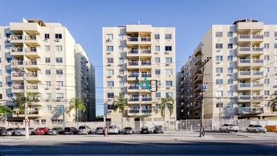 Apartamento Com 2 Dormitórios À Venda, 56 M² Por R$ 240.000 - Campo Grande - Rio De Janeiro/rj - Ap0165
