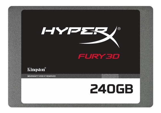 Disco Solido Gamer 240gb Hyperx Fury Ssd 2.5 3d 4