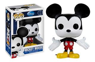 Figura Funko Pop Disney Mickey Mouse 01. Original Wabro.