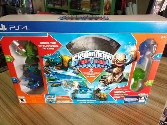 Skylanders Trap Team Ps4 Lacrado