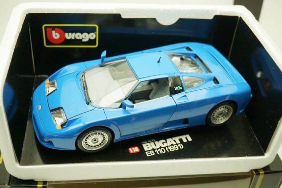1:18 Bburago Bugatti Eb 110 Ñ Autoart Senna Veyron F1 Schuco