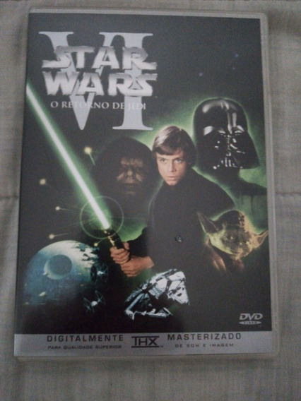 Dvd Star Wars O Retorno De Jedi