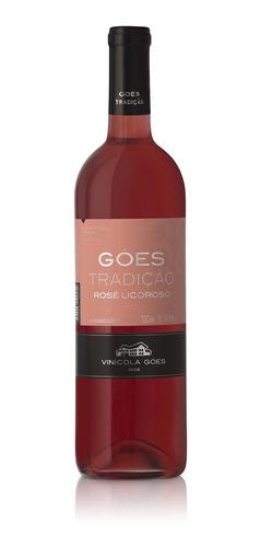 Vinho Rosado Licoroso Doce Tradição 750ml - Góes