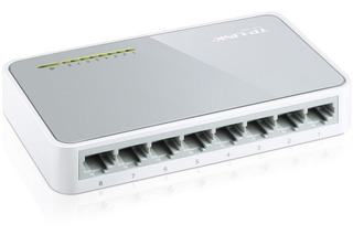 Switch Tp-link Tl-sf1008d - 8 Puertos 10/100 Mbps