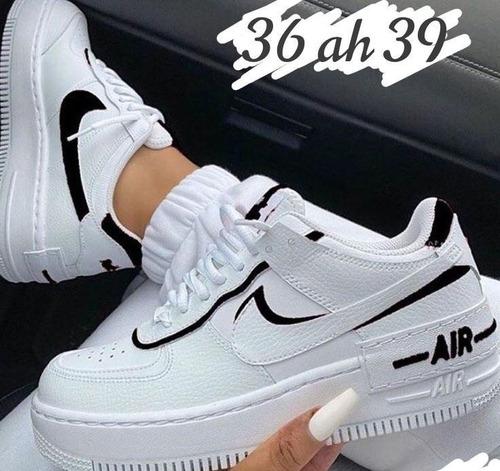 Nike Air Force 1 Low Shadow White/black