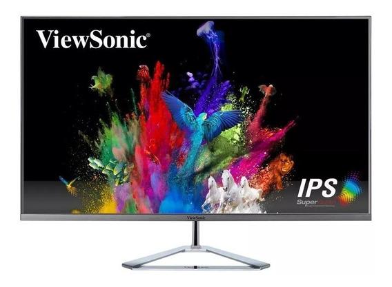 Monitor 32 Gamer Viewsonic Vx3276 2k Wqhd 4ms Dp Hdmi Ips