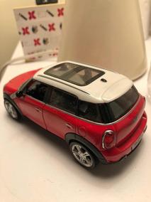 Miniatura Mini Cooper Countryman Vermelho - Rmz