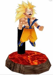 Goku Ssj3 Dragon Ball - - Plantillas Patrones