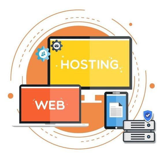 Web Hosting Todo Incluido Ilimitado Casillas De Correo Anual
