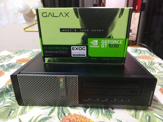 Pc Gamer Dell I5 3.2ghz 8gb + Hd Ssd 240 + Gt1030 + Wi-fi