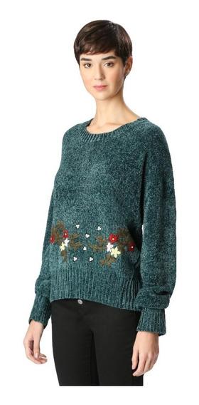 Blusa De Lã Suéter Especial Chenille
