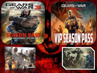 Doble Pack: Gears Of War 3 Y Judgment [ Dlc ] Xbox 360 - One