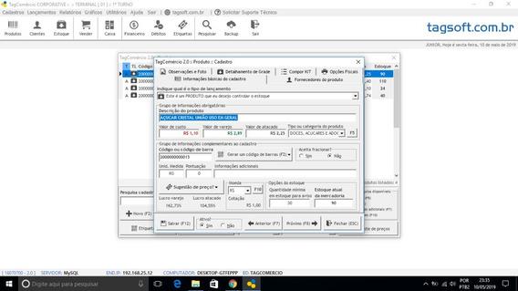 Sistema De Vendas Tagcomercio 2.0 Controle Gerencial