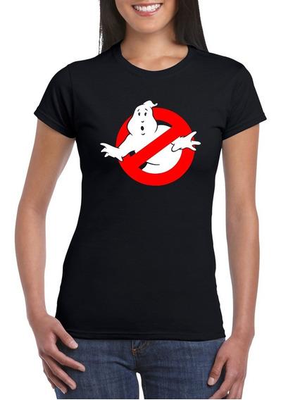 Playeras Mujer Ghostbusters Cazafantasmas Caza Fantasmas