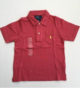 Ralph Lauren Camisa Polo M/c Malha Tam 12 E 24 Meses Nova